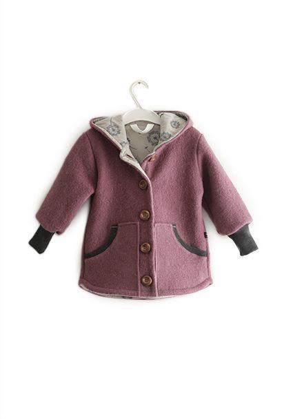 Wool Jacket Old Pink Pamuk Handmade In Berlin Wool Jacket For Children And Babies In Dusky Pink Made From In 2020 Kinderkleidung Jacken Kleidung Fur Kleine Madchen