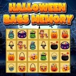 لعبة ذاكرة أكياس هالوين Halloween Bags Memory Arcade Play Games