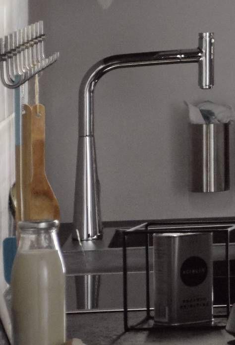 Grosser Runder Wasserhahn Kuchenamatur Waschamatur Aus Edelstahl Fur Eine Moderne Kuche Home Decor Sink Decor