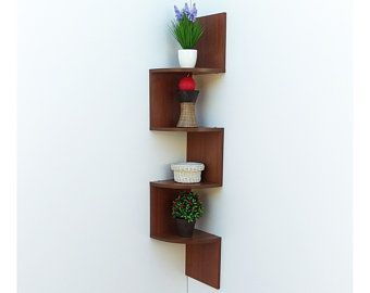 Wall Corner Shelf Corner Wall Shelf Corner Shelf Wall Shelf Etsy Corner Shelves Wall Shelves Corner Wall Shelves