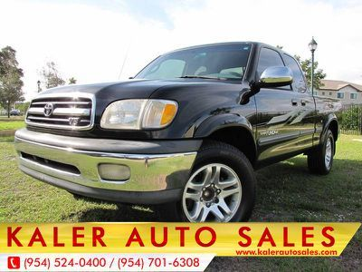2000 Toyota Tundra Access Cab V8 Auto Sr5 Black 2 Doors 5988 00 To View More Details Go To Https Ww Access Cab 2000 Toyota Tundra Cars For Sale