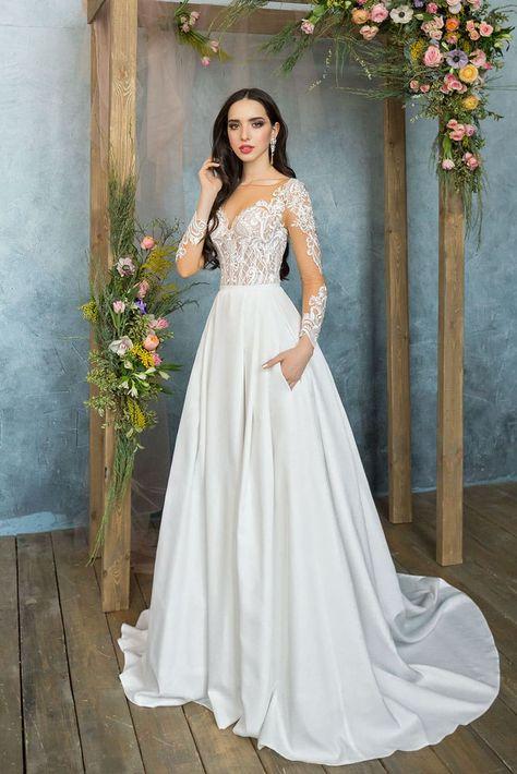 73df2fde748ff24 Свадебное платье Анна Кузнецова Delaila ▷ Свадебный Торговый Центр Вега в  Москве
