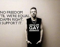 Macklemore Gay Rights Activist