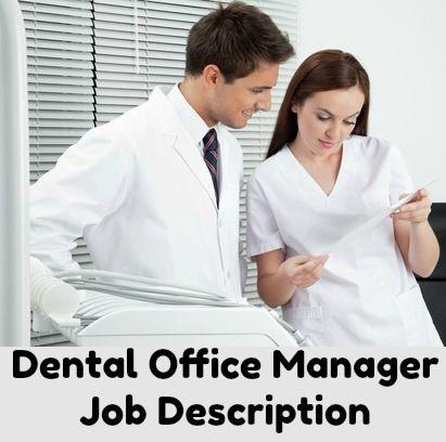 Dental Receptionist Job Description Receptionist Jobs Office Manager Job Description Nurse Job Description