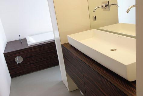 Badkamer Interieur Design : Interieurdesign badkamer wastafel maatwerk