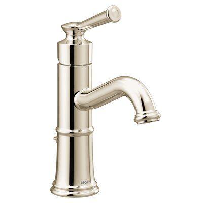 Moen Belfield Single Hole Bathroom Faucet With Drain Assembly