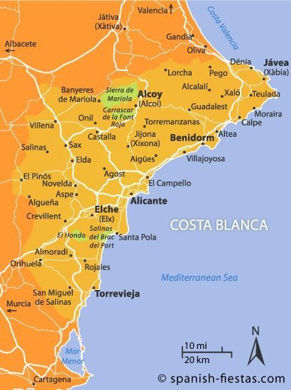 Costa Blanca Alicante Spain Spain Holidays Spain And Portugal