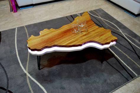 Tavolini Da Salotto In Legno Moderni.Modello Trinacria Tavolini Da Soggiorno Tavolini Da