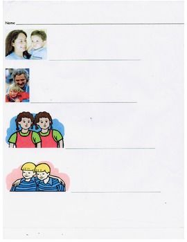 "A printable page for students to practice writing ""mom"" ""dad"""