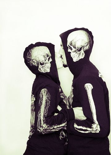Please direct me to the nearest skeleton hoodie.