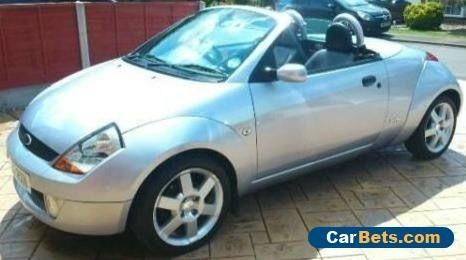 2006 Ford Streetka 1 6 Blue Convertible Luxury Winter Edition
