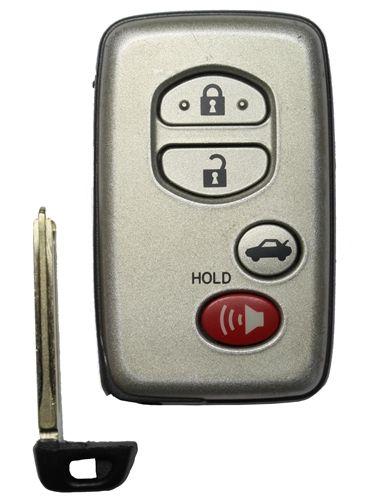 Toyota Hyq14aab Oem 4 Button Key Fob 271451 0140 Automotive Locksmith Toyota Venza Toyota
