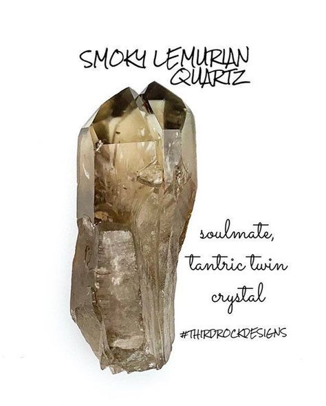 Check out this beautiful and rare Lemurian Smoky Quartz Twin Point with a Record Keeper in our Etsy Shop! Free shipping! #SmokyQuartz #Crystals #HealingCrystals #TwinFlame #Tantric #ThirdRockDesigns