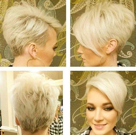 Grau kurzhaarfrisuren damen blond Download Kurzhaarfrisuren