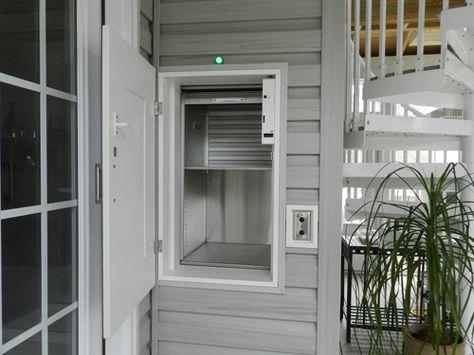 Residential Dumbwaiter Door Open Residential Doors Dream House House