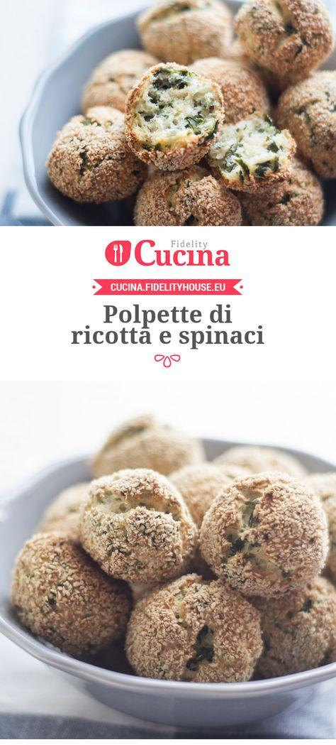Polpette di #ricotta e #spinaci della nostra utente Chiara. Unisciti alla nostra Community ed invia le tue ricette!