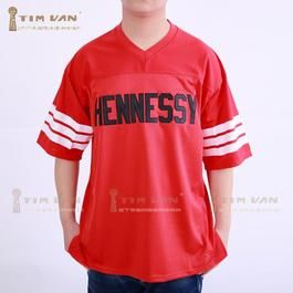 bd9833d0c Prodigy 95 Hennessy Queens Bridge Football Jersey Stitched Sewn-Red -aFancyShop