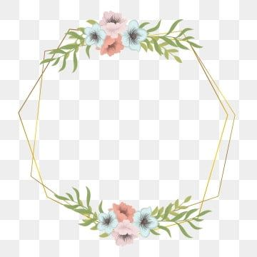 Wedding Flower Frame Frame Flower Flower Frame Png And Vector With Transparent Background For Free Download Flower Frame Png Flower Frame Watercolor Flower Illustration