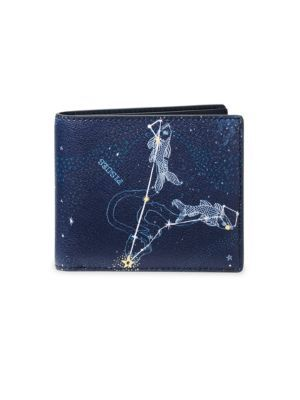 f64e3bf5bde3 MICHAEL KORS Pisces Leather Billfold Wallet.  michaelkors  wallet ...