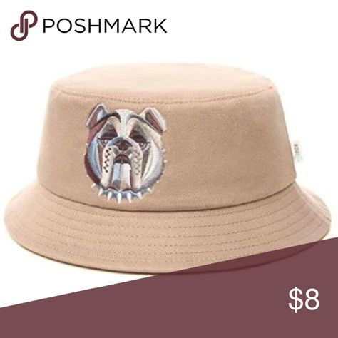 517bf8558d0 Men s Bucket Hat with bulldog logo DESIGN - Rounded
