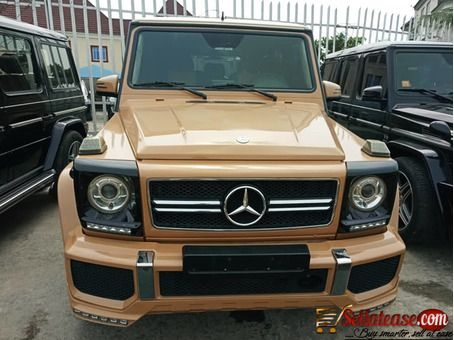 Tokunbo Mercedes Benz G Wagon 2014 G63 For Sale In Nigeria With