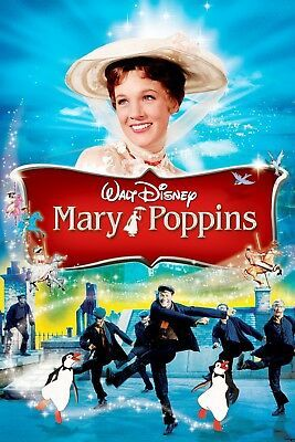 Mary Poppins Movie Poster 24 x 36... 2 for $12 #fashion #home #garden #homedcor #postersprints (ebay link)