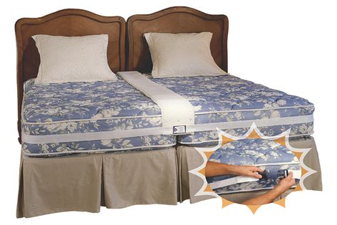 Easy King Bed Doubler Bedroom Research Two Twin Beds