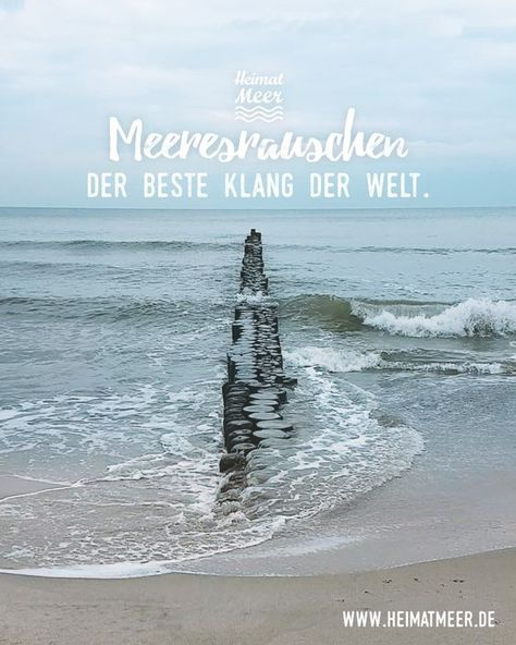 Sea Rush - The best sound in the world. Mee (h) r >> Can you enjoy #Amrum?