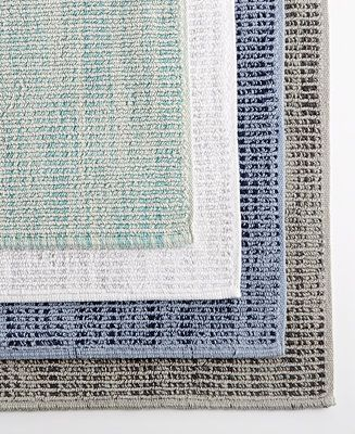 Textured Flat Weave Bath Rugs