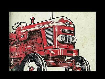 Advertisement Ebay Nuffield 3 45 4 65 4 25 Operations Manual 100pg For Gas Diesel Tractor Service In 2020 Tractors Monster Trucks Diesel