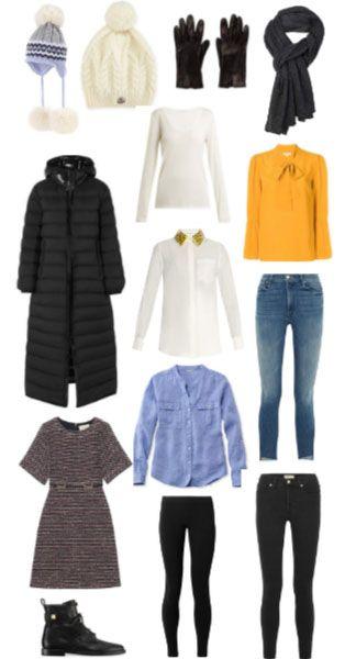 South Korea Packing List (Winter) December, January