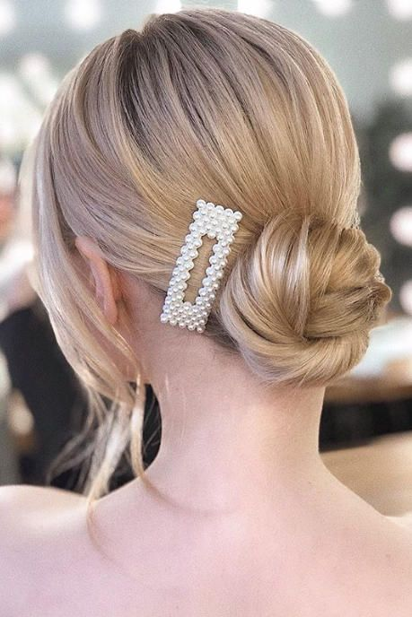Ditch The Ponytail Here Are 17 Pretty Bun Hairstyles To Try Now Bun Hairstyles Braided Bun Hairstyles Hair Accessories