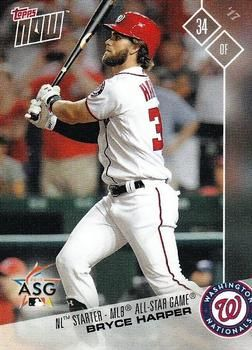 2017 Topps Now All Star Game National League As 6 Bryce