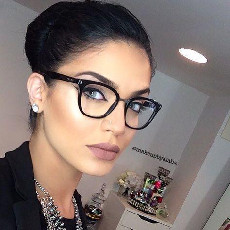 Pin De Stela Em Maquilhagem Oculos Para Rosto Redondo Armacoes