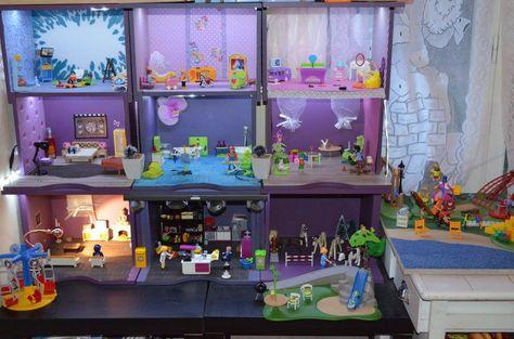 ausmalbilder playmobil kinderzimmer - zeichnen und färben
