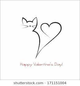 Love Cat Katzentattoos Kritzel Zeichnungen Tattoo Katzenpfote