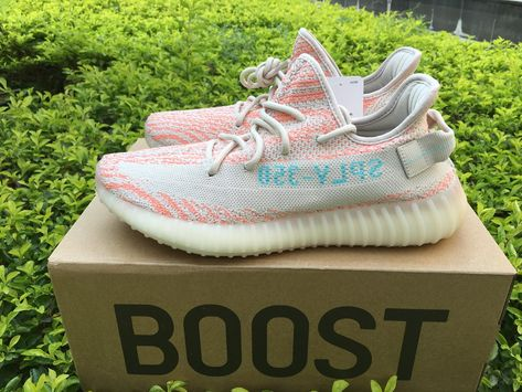 501ca5d3661bd Authentic Adidas Yeezy Boost 350 V2 Clear Brown Chalk Coral Clear Aqua-2
