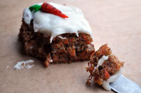 gâteau à la carotte | gâteaux sans lait sans oeufs | pinterest