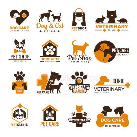 Vet Clinic Logo Pets Shop Cats Dogs Domestic Animals Protection Friendly Funny Aff Pets Shop Cats Vet Ad Pet Shop Pet Shop Logo Pet Clinic