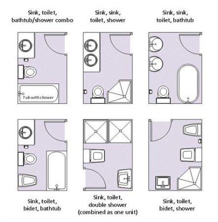 35 Ideas For Bathroom Layout 4 Piece House Plans House Bathroom