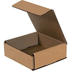 Office Depot Brand Corrugated Mailers 6 X 6 X 2 Kraft Pack