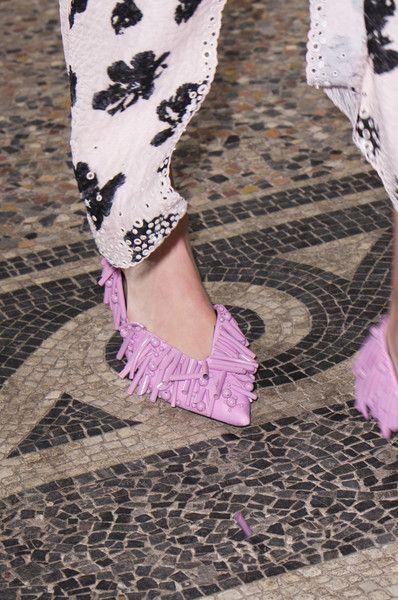 Proenza Schouler at Paris Fashion Week Spring 2018 - The Most Daring Runway Shoes at Paris Fashion Week - Photos