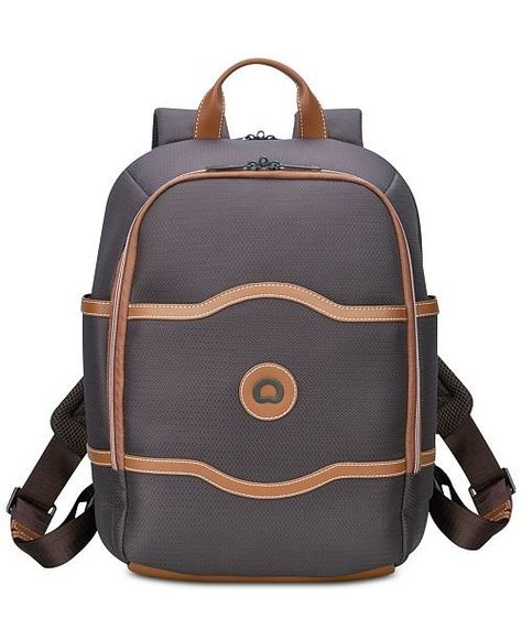 a54fdf2cc507 Delsey Chatelet Soft Air Backpack Chocolate personal item carry-on ...