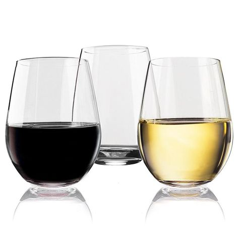 non breakable wine glasses