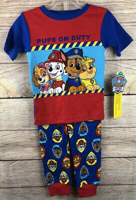 Paw Patrol Boys Pups at Duty Short Sleeve T Shirt