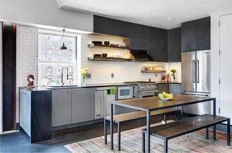 Desain Dapur Industrial Dapur Rumah Ala Kafe Renovasi Dapur