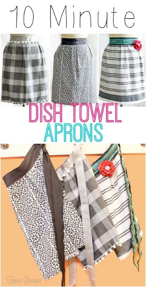 Most recent Totally Free Sewing patterns free Suggestions 20 DIY Aprons With Free Patterns That Will Keep You Fashionable Small Sewing Projects, Sewing Projects For Beginners, Sewing Hacks, Sewing Tutorials, Sewing Crafts, Sewing Tips, Christmas Sewing Projects, Scrap Fabric Projects, Apron Pattern Free