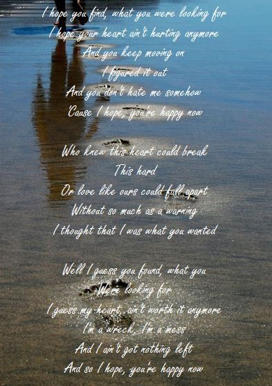 Carly Pearce Lee Brice I Hope You Re Happy Now Happier Lyrics Circle Time Songs Happy Song