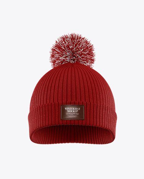 Download Winter Hat Mockup In Apparel Mockups On Yellow Images Object Mockups Design Mockup Free Winter Hats Mockup Psd