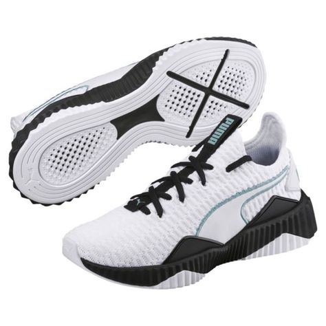 new style e7233 5e267 Image 1 of Defy Women s Sneakers, Puma White-Puma Black, medium